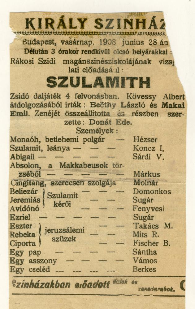 Kiraly-Szinhaz