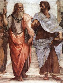 Platon +Öi Aristotel pictur-â de Rafael