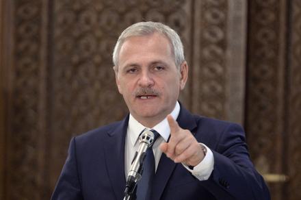 Liviu Dragnea, liderul PSD, sustine o declaratie de presa la finalul consultarilor cu Presedintele Romaniei, Klaus Iohannis la Palatul Cotroceni, din Bucuresti, miercuri, 21 decembrie 2016. ALEXANDRU DOBRE/ MEDIAFAX FOTO.
