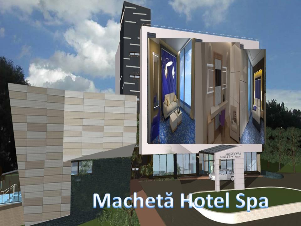 Machetă Hotel Spa President