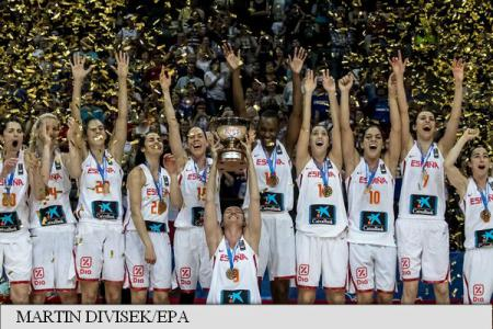 Spania campiona europeana baschet