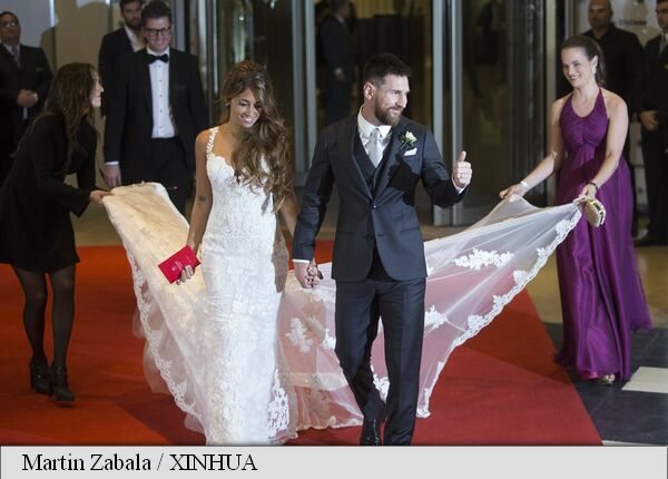 nunta Messi