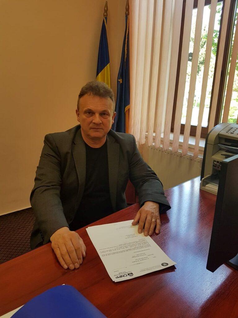 CRISTIAN SOPONOȘ, directorul Casei Județene de Pensii Satu Mare